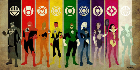 green lantern - comics, dc, green, lantern