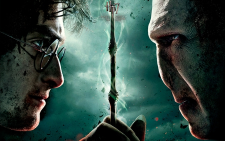 Harry Potter and the Deathly Hallows Part 2 - deathly hallows, hp7 part 2, movie, eldar wand, harry potter, voldemort