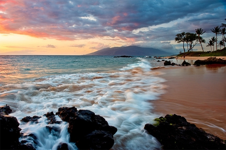 Wailea Beach Maui - beach, nature, photo, maui