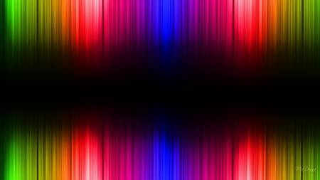 Spectrom - light, colors, black, abstract, bright