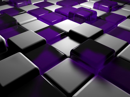 Purple white cubes 3d and cg abstract background for Purple wallpaper 3d