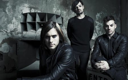 30 seconds to mars - music, tomo milicevic, 30 seconds to mars, jared leto, shannon leto