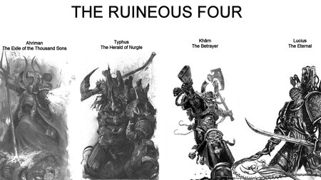 The Ruineous Four