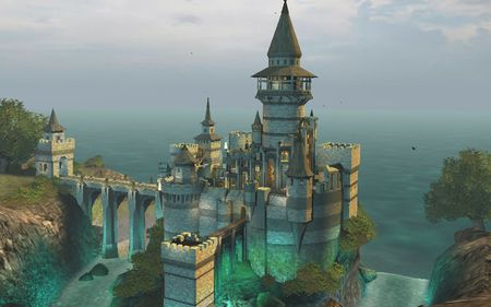 beautiful castle - building, fantasy, beauty, abstract, castle, manmade