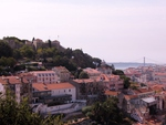 View of S. Jorge Castle, Lisbon
