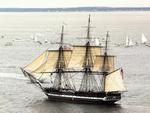 THE USS CONSTITUTION-(OLD IRONSIDE)