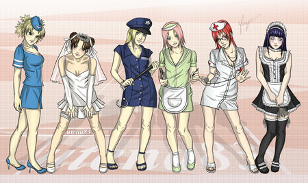 Sexy girls from naruto