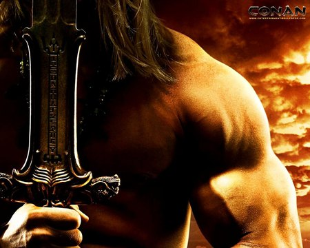 Conan - age of conan, hd, warrior, video game, sword, conan