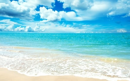 Wallpapers | Great Atmosphere. |Pretty Blue Beach