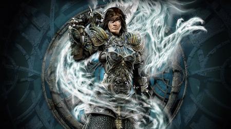 Fantasy Paladine WDS - paladin, female knight, paladine, knight, knight misstres