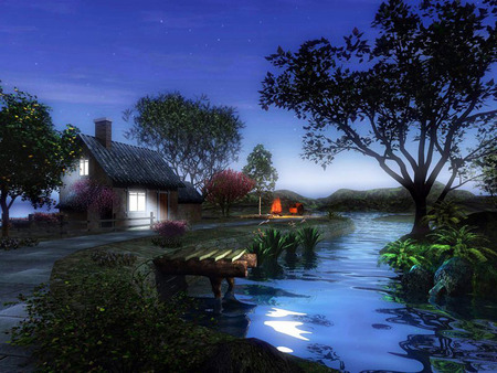 Comments On The Hermitage On The Lake 3d And Cg Wallpaper