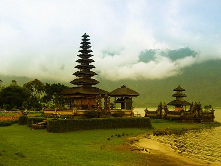 Bali Island, Indonesia - java, beautiful, pura, sky, clouds, bali, panorama, beach, hindu, temple, nature