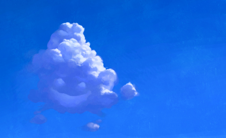 Smiley Cloud 3d And Cg Abstract Background Wallpapers On Desktop
