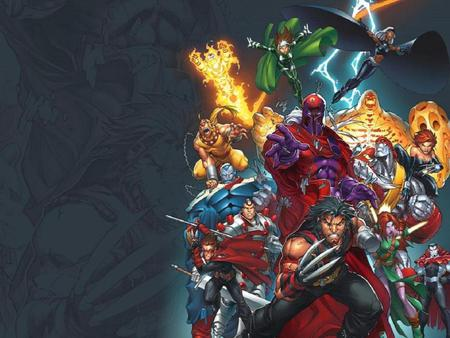 A.O.A - apocalypse, mister sinister, blink, magneto, wildchild, weapon x