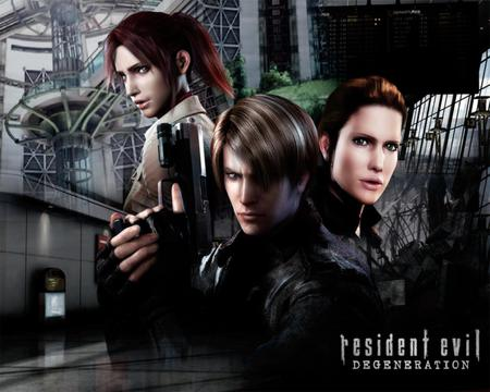 Resident Evil: Degeneration - Movies & Entertainment Background