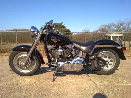 Harley-Davidson - harley-davidson, fat boy, flstfi, twincam