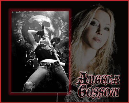 Angela Gossow Music Entertainment Background Wallpapers On