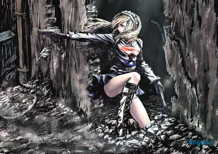 Action Girl Other Video Games Background Wallpapers On Desktop