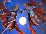 SuperGirl V.S Power Girl