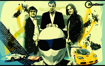 Top Gear - maserati, mclaren, stig, ferrari, top gear