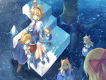 Touhou young and older alice / better Quality