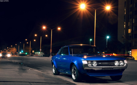 Old School Toyota Celica