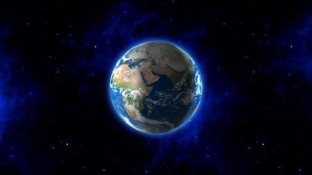 Earth Blue Velvet - velvet, round, stars, blue, sky, planet, earth