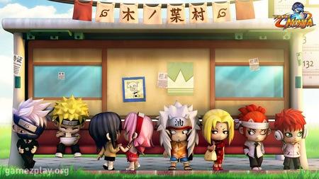 pockie ninja - sakura, kakashi, naruto, tsunade, renji, pockie ninja, gaara