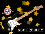 Kiss Ace Frehley Autographed Guitar Free Wallpaper
