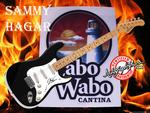 Sammy Hagar Autographed Guitar Free Wallpaper
