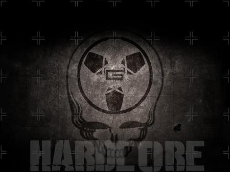 HARDCORE WALLPAPER - skull, bad ass, abstract, hardcore