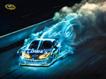 Jimmie Johnson Sprint Cup Ad Monster Burn Out