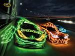 Dale Earnhardt Jr Tony Stewart  Jimmie Johnson Nascar Sprint cup Monster ad
