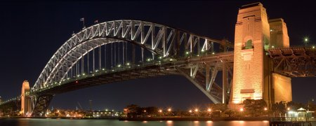 Sydney Harbour Bridge - sydney, cities, water, photography, australia, harbors, bridges, architecture