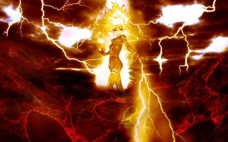 Lightning Other Anime Background Wallpapers On Desktop Nexus Image 690536