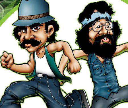 Cheech and Chong - cartoon, movie, entertainment, men