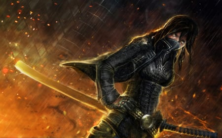 Warrior Ninja Other Anime Background Wallpapers On