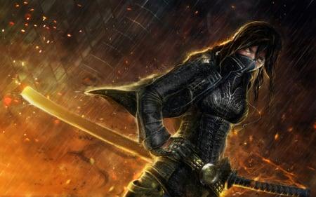 Warrior ninja other anime background wallpapers on - Ninja anime wallpaper ...
