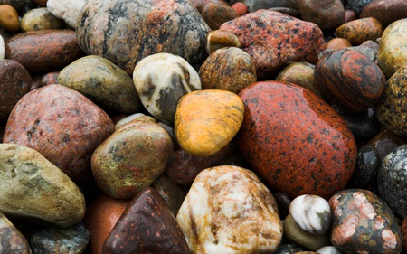 Stones - beautiful, colorful, stones, nature, beaches