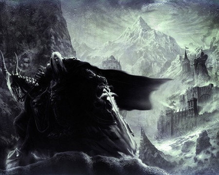 Arthas - arthas, dark, king, amazing, beautiful, fantasy, games, art, mountain