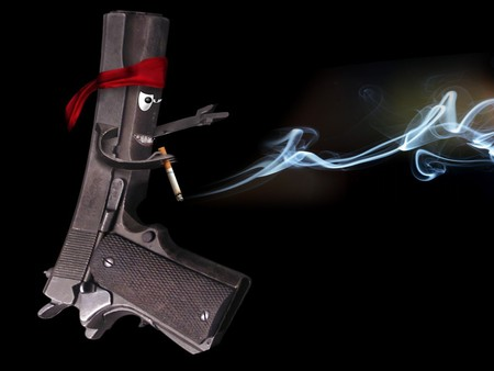 A Smoking Gun Fantasy Abstract Background Wallpapers On Desktop