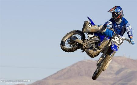 2009 Yamaha YZ250F In Action