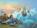 Painting by Lynn Lupetti