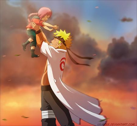 Naruto Child - anime, naruto, child, future
