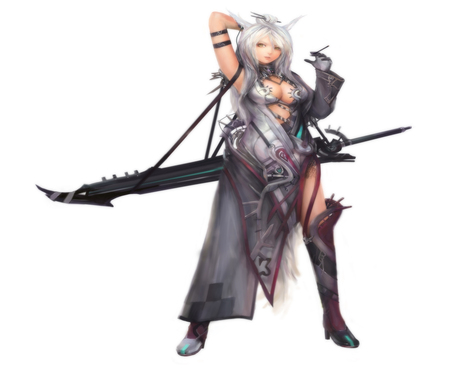 Warrior Foxgirl Other Anime Background Wallpapers On Desktop