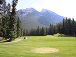 Mountains & golf course in Banff Alberta National Park 17