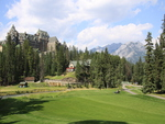 Mountains & Golf course in Banff Alberta National Park 21
