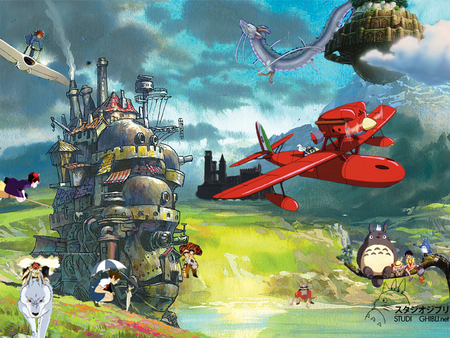 Ghibli Other Anime Background Wallpapers On Desktop