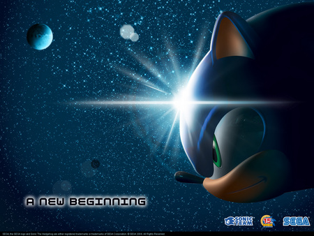 A New Beginning - sonic the hedgehog, sonic, sassy