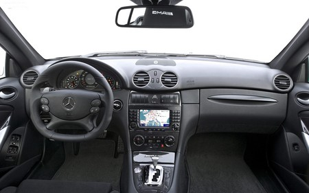 Untitled Wallpaper - black, dashboard, clk63, series